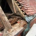 Schäden Dachtraufe