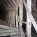 mittelalterliche Dachkonstruktion
